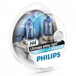 PHILIPS H4 12V 55W DIAMOND VISION 5000k – 12342DVS2