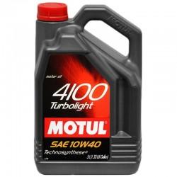 MOTUL 4100 TURBOLIGHT 10W-40 5L