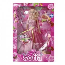 ΚΟΥΚΛΑ SOFIA ΣΕ ΚΟΥΤΙ 20x32cm ToyMarkt 922037