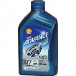 Shell Advance AX7 4T 15W-50 1lt