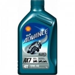 Shell Advance AX7 4T 10W-40 1lt