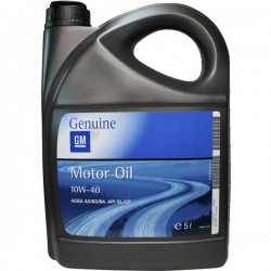OPEL GM GENUINE MOTOR OIL 10W40 5LT