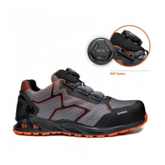 Παπούτσια ασφαλείας BASE, K-JUMB S1P HRO SRC μαύρο/γκρι/πορτοκαλί ΑΝΤΑΛΛΑΚΤΙΚΑ
