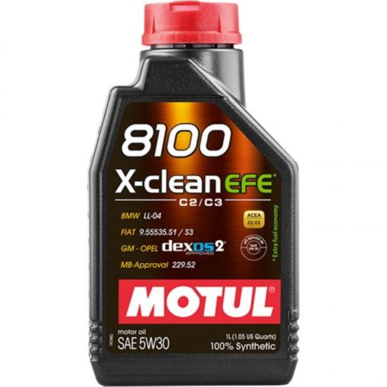 Motul 8100 X-Clean EFE 5W30 1lt MOTUL