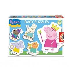 Puzzle REMOUNDO Baby Disney Peppa (x5) EDUCA – 20 κομμάτια